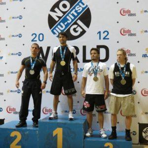 Frank Forza 2012 IBJJF No-Gi World Champion