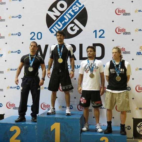 Frank Forza 2012 IBJJF No-Gi World Champion